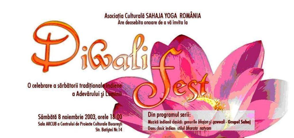 Sahaj Group - Diwali Fest - ARCUB București - Sahaja Yoga România - Muzica clasica indiana - Dans clasic indian